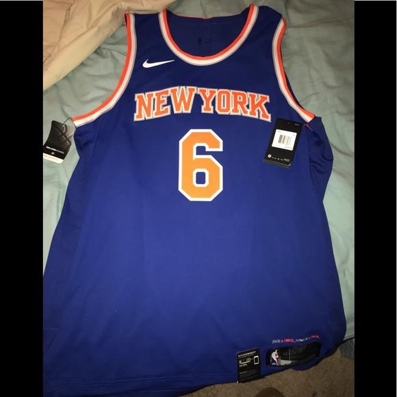 newest 050f2 de73c 2018 NBA Porzingis New York Knicks Jersey Size 52 NWT